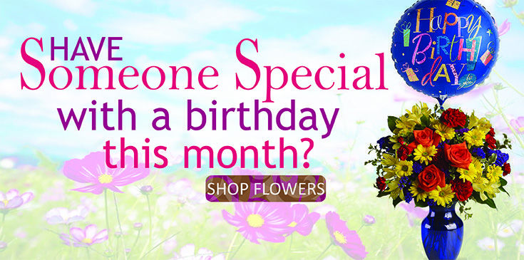 Vogt's Flowers will deliver your gift of birthday flowers the same day. No need to be late.